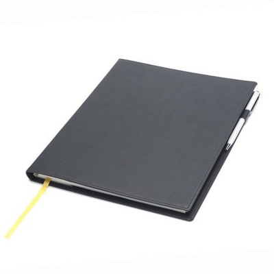 Picture of NEWHIDE QUARTO DESK WALLET with Comb Bound Note Book Insert