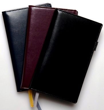 Picture of NEWCALF POCKET WALLET with Comb Bound Diary - Note Book Insert