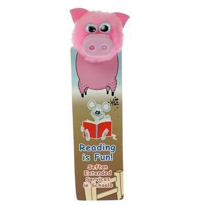 Picture of BOOKMARK PIG AD-BUG