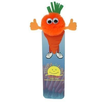Picture of HEALTHY EATING CARROT BOOKMARK AD-BUG
