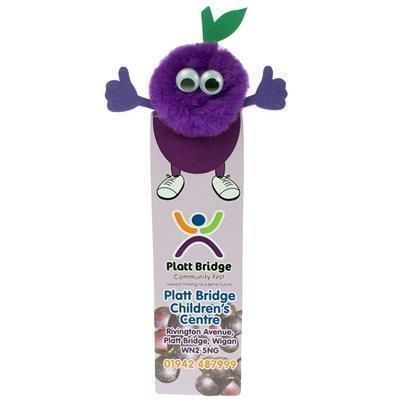 Picture of HEALTHY EATING GRAPE BOOKMARK AD-BUG