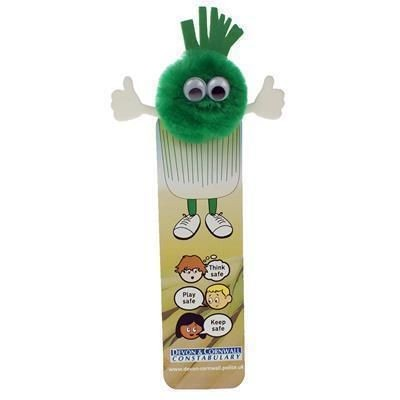 Picture of HEALTHY EATING LEEK BOOKMARK AD-BUG