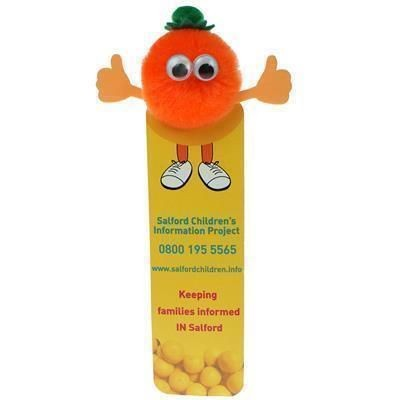 Picture of HEALTHY EATING ORANGE BOOKMARK AD-BUG