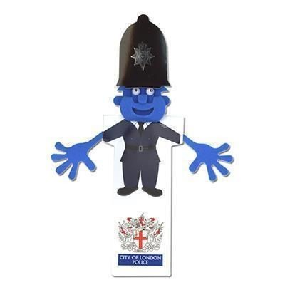 Picture of POLICEMAN EMERGENCY SERVICE BOOKMARK