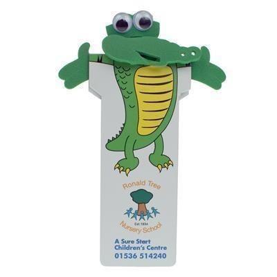 Picture of CROCODILE BODY BOOKMARK