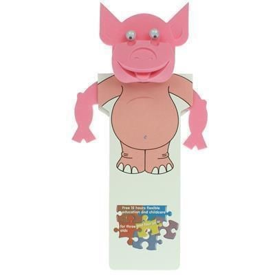 Picture of PIG BODY BOOKMARK