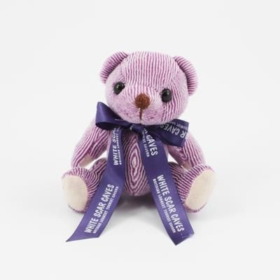 Picture of 12CM BOW BLACKBERRY CANDY BEAR