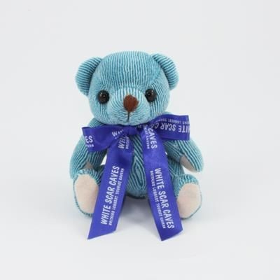 Picture of 12CM BOW BLUBERRY CANDY BEAR