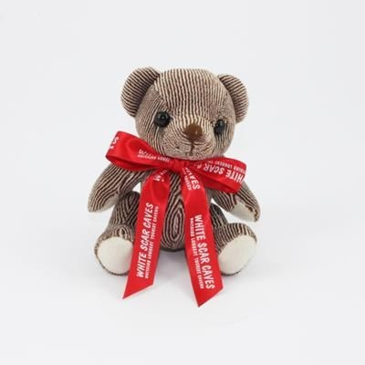 Picture of 12CM BOW CHOCOLATE CANDY BEAR