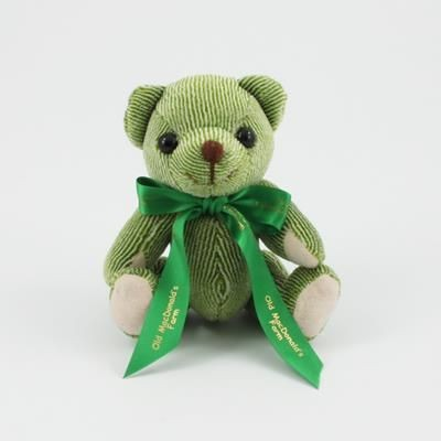 Picture of 12CM BOW LIME CANDY BEAR