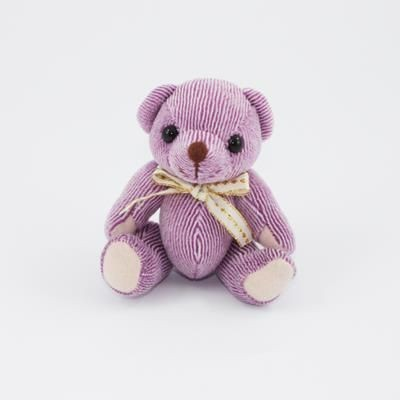 Picture of 12CM PLAIN BLACKBERRY CANDY BEAR