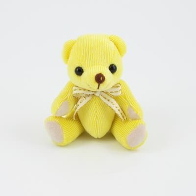Picture of 12CM PLAIN LEMON CANDY BEAR