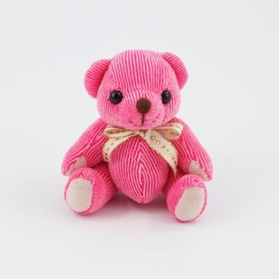 Picture of 12CM PLAIN RASPBERRY CANDY BEAR