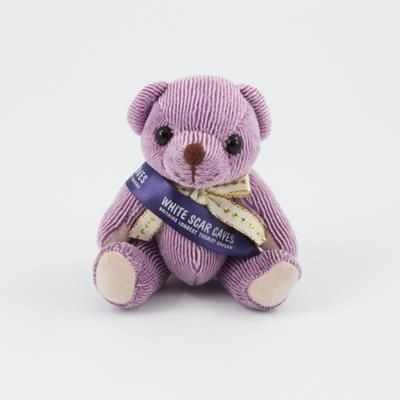Picture of 12CM SASH BLACKBERRY CANDY BEAR