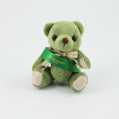 Picture of 12CM SASH LIME CANDY BEAR