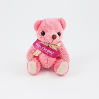 Picture of 12CM SASH STRAWBERRY CANDY BEAR