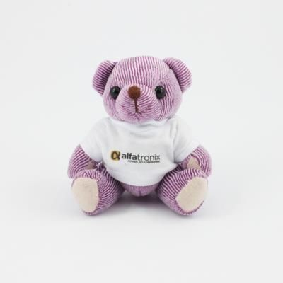 Picture of 12CM TEE SHIRT BLACKBERRY CANDY BEAR