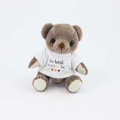 Picture of 12CM TEE SHIRT CHOCOLATE CANDY BEAR