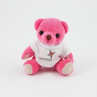 Picture of 12CM TEE SHIRT RASPBERRY CANDY BEAR