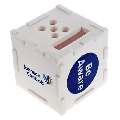 Picture of LARGE 75MM FOAM CUBE DESK TIDY ORGANIZER PUZZLE