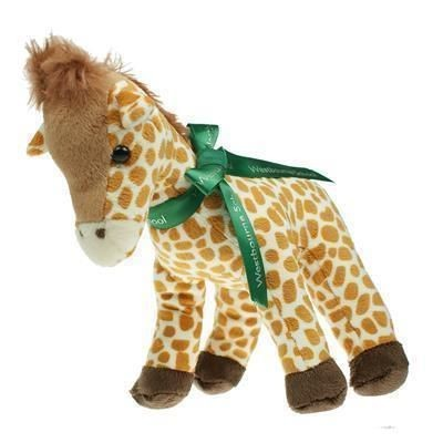 Picture of 20CM GERRY GIRAFFE with Bow