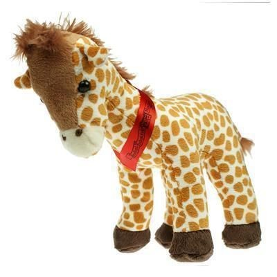 Picture of 20CM GERRY GIRAFFE with Sash