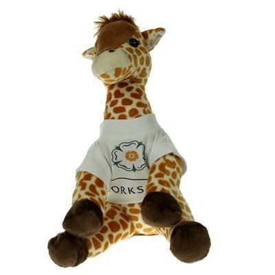 Picture of 20CM GERRY GIRAFFE with Tee Shirt