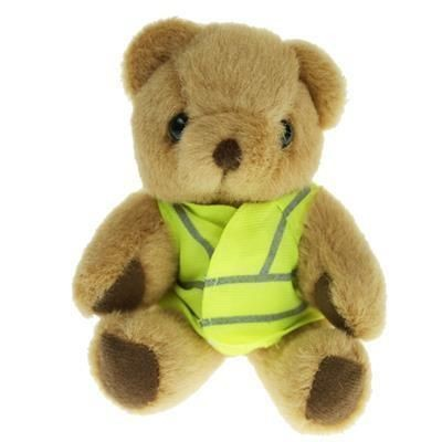 Picture of 13CM HONEY JOINTED BEAR