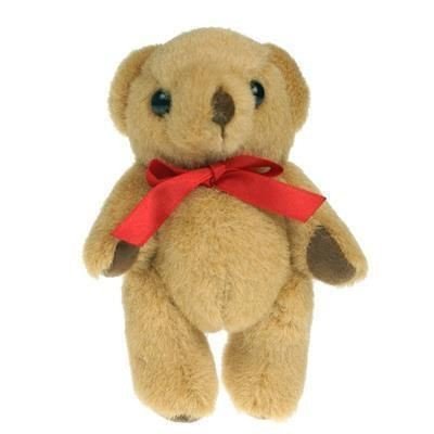 Picture of 13CM PLAIN HONEY JOINTED BEAR