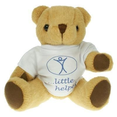 Picture of 20CM HONEY JOINTED BEAR with Tee Shirt