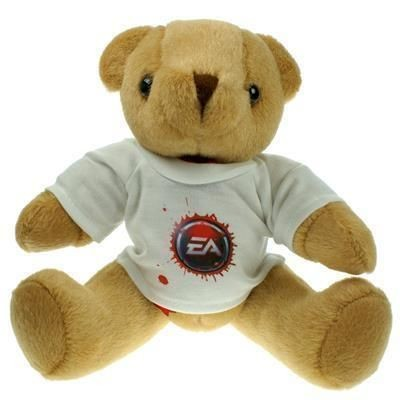 Picture of 25CM HONEY JOINTED BEAR with Tee Shirt