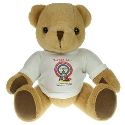 Picture of 30CM HONEY JOINTED BEAR with Tee Shirt