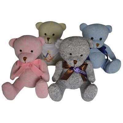 Picture of 20CM NURSERY BEAR with Bow