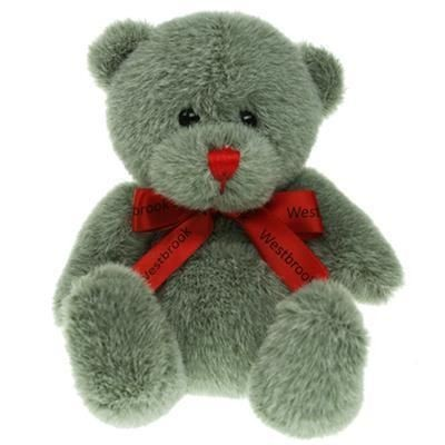 Picture of 15CM RED NOSE BEAR with Bow