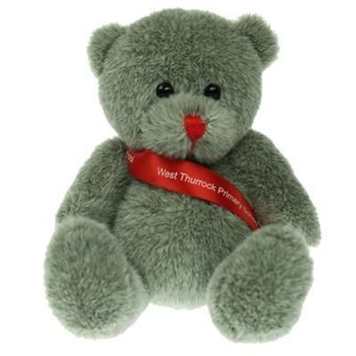 Picture of 15CM RED NOSE BEAR with Sash
