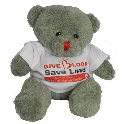 Picture of 15CM RED NOSE BEAR with Tee Shirt