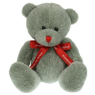 Picture of 20CM RED NOSE BEAR with Bow