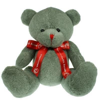 Picture of 25CM RED NOSE BEAR with Bow
