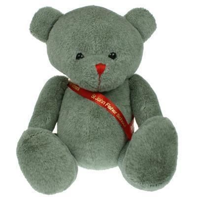 Picture of 25CM RED NOSE BEAR with Sash