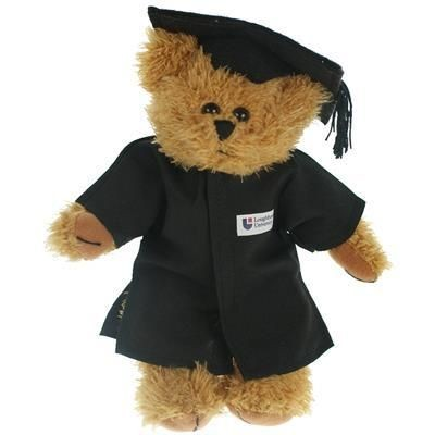 Picture of 20CM SPARKIE BEAR with Cap & Gown