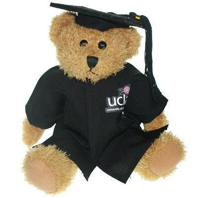 Picture of 25CM SPARKIE BEAR with Cap & Gown