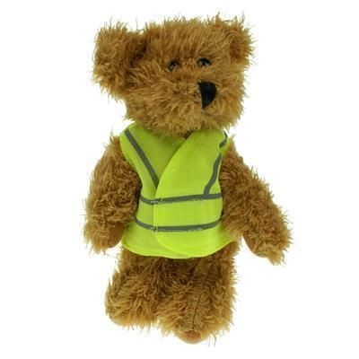 Picture of 15CM SPARKIE BEAR with Hi-vis Vest