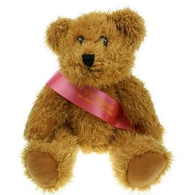 Picture of 25CM SPARKIE BEAR with Sash