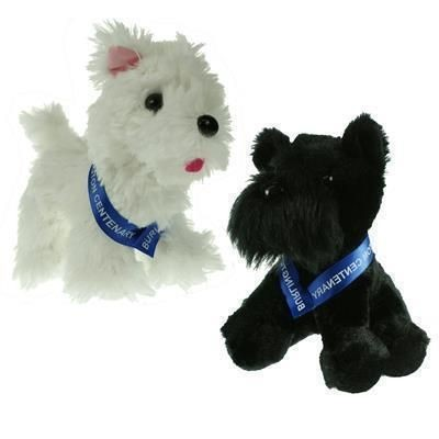 Picture of 15CM SCOTTIE DOG with Sash