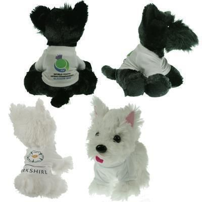 Picture of 15CM SCOTTIE DOG with Tee Shirt