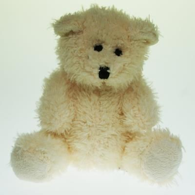 Picture of 12CM PLAIN SNOWY BEAR