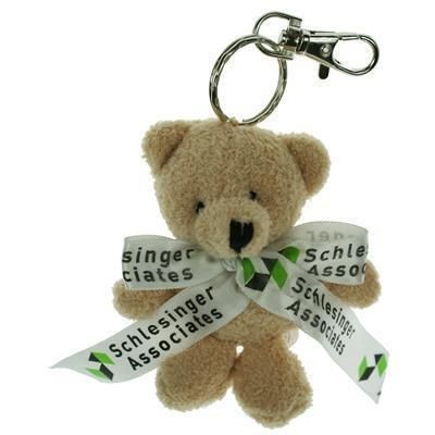 Picture of 10CM TOBY KEYRING BEAR with Bow