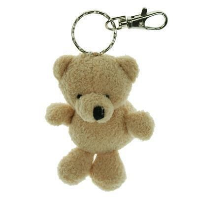 Picture of 10CM PLAIN TOBY KEYRING BEAR