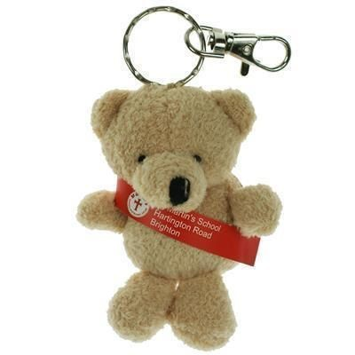 Picture of 10CM TOBY KEYRING BEAR with Sash