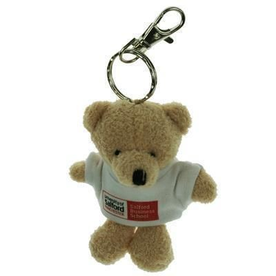 Picture of 10CM TOBY KEYRING BEAR with Tee Shirt